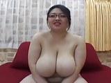 Japanese BBW Miyabi Hayama with huge breasts