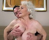 Lusty Grandmas – Still hot and kinky Norma wants a young cock